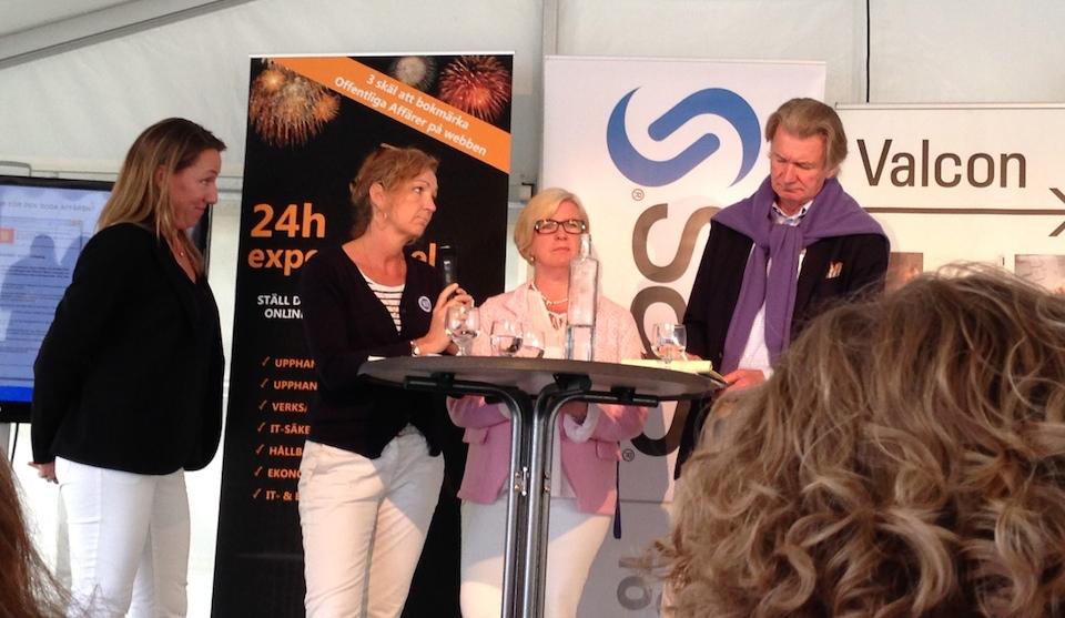 """Bara 2 av Upphandlingsutredningens 50 åtgärder har genomförts hittills. """"Varför inte flera?"""" frågade sig Anders Wijkman (t.h.)"""