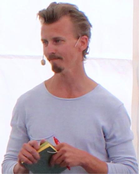 Paul Svensson, kock och seminariets moderator.