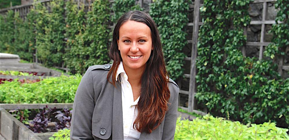 Drivande. Ulrika Brunn är verksamhetsledare för Skolmatsakademin Västra Götaland, som i år firar tioårsjubileum och har fler medlemmar än någonsin. Foto: Agneta Renmark.