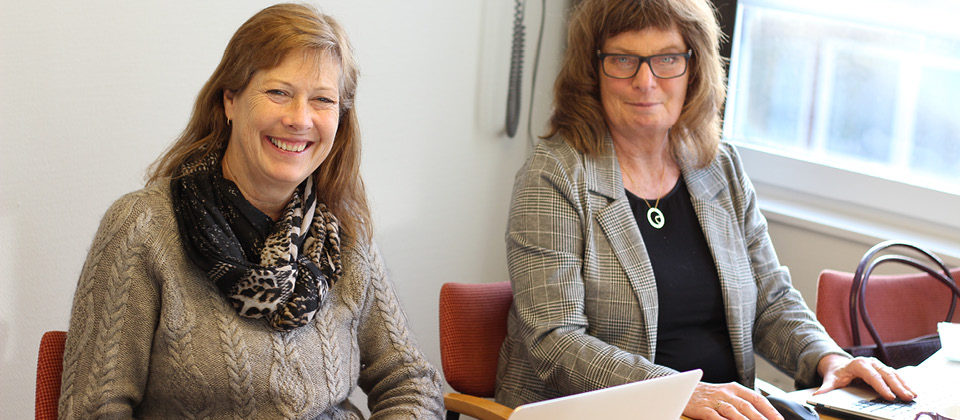 Med riktlinjerna på plats räknar fokusgruppen med att deras roll i framtiden blir fungera som enande kraft och kunskapsbank i frågor som rör specialkoster. Här Åsa Kullberg (t.v.), tillsammans med Camilla Wiström (t.h.), Kerstin Berg och Gunilla Martinsson, i samband med att gruppen träffades under Föreningsdagarna.