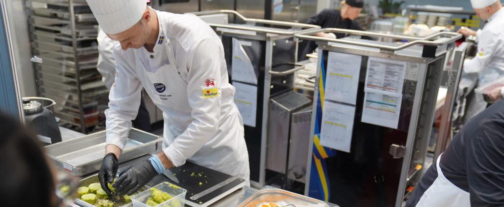 Fazer Culinary Team tävlade i Stuttgart på tisdagen.