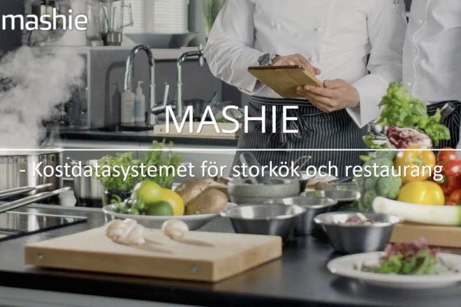 Mashie - kostdatasystemet för storkök