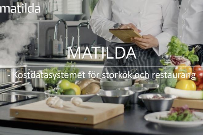 Matilda - kostdatasystemet för storkök